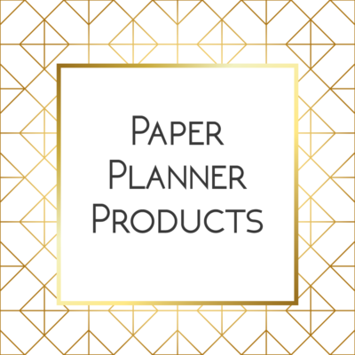 Paper-Planner-Products